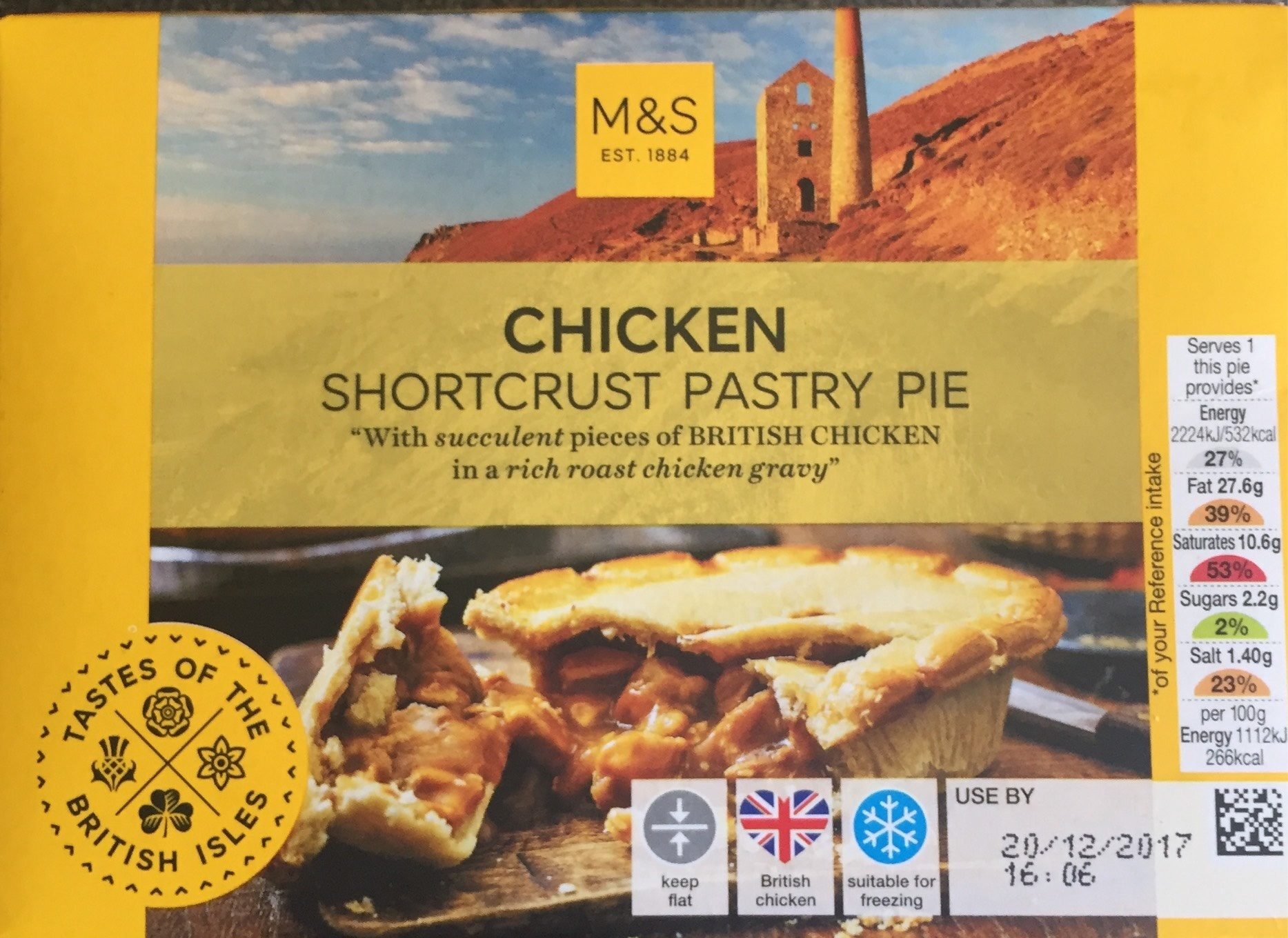 Complaint – M&S Birthday Pie (2018)