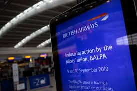Complaint: BALPA (Pilot's Trade Union)